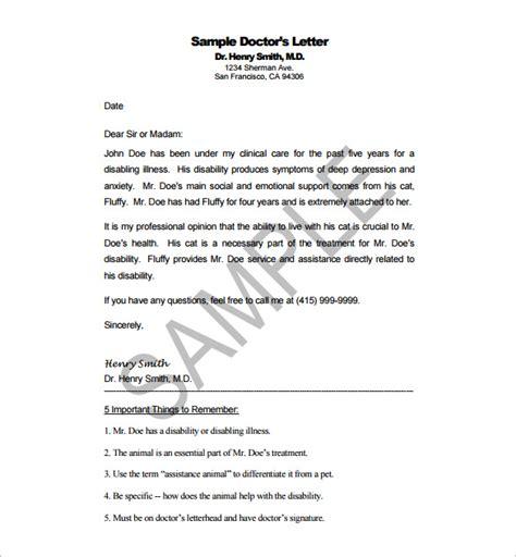 consul template supervisor 18 doctor letter templates pdf doc free premium