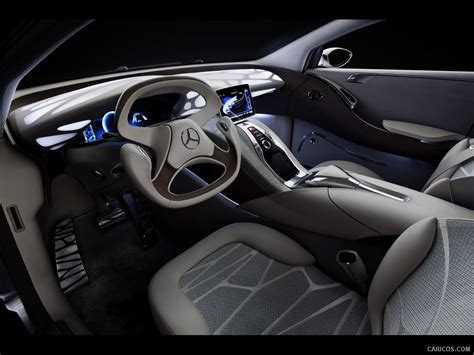 Mercedes Benz F800 Style Concept 2018 Interior Front