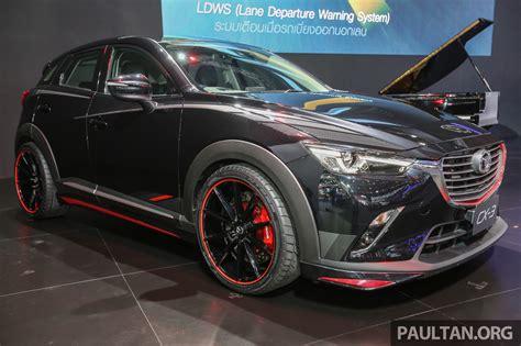 Mazda Cx3 Modification by Gallery Mazda Cx 3 Racing Concept At Bangkok