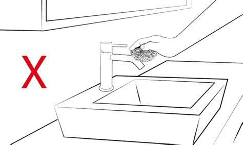 clistere acqua rubinetto pulire soffione doccia come pulire i vetri i rimedi per