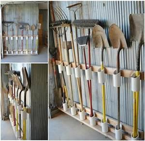 Rangement Outils Garage : 25 superbes id es de rangements pour votre garage jardinage garage tool organization ~ Melissatoandfro.com Idées de Décoration