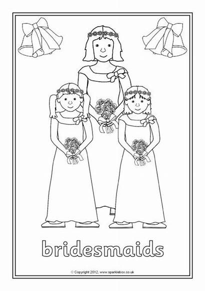 Colouring Pages Weddings Sparklebox Coloring Christian Sheets
