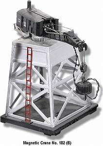 Lionel Trains 182 Magnetic Crane Accessory