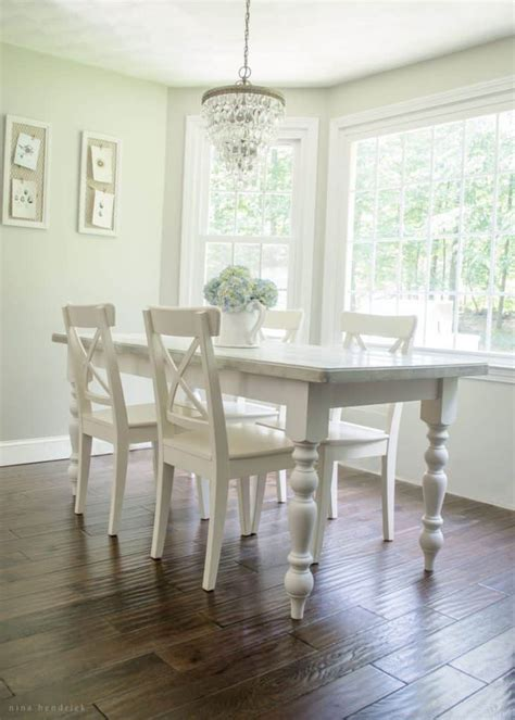 cottage kitchen tables picnic table to diy cottage dining table tutorial 2661