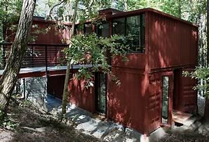 Container Haus Architekt : modulus six oaks shipping container residence ~ Indierocktalk.com Haus und Dekorationen