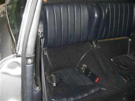 Rear Seat Belt Of A 1973.5