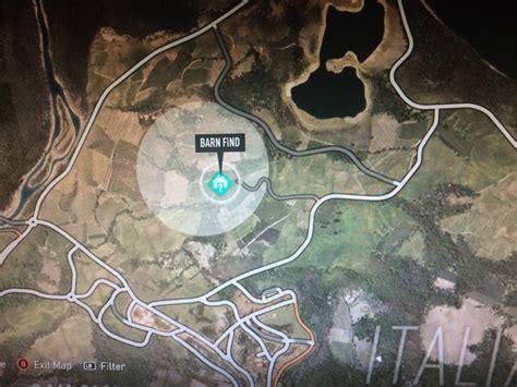 Forza Horizon 2 Full Treasure Map
