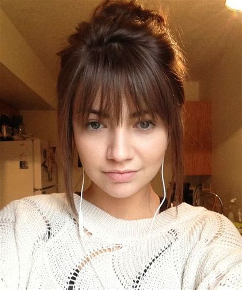 hair with side fringe styles the 25 best ideas about fringe hairstyles on 8441