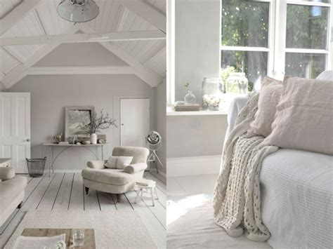 chambre gris perle et blanc déco salon et blanc
