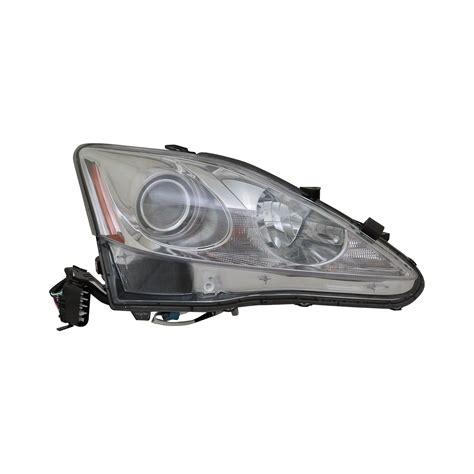 replace 174 lexus is with factory halogen headlights 2009