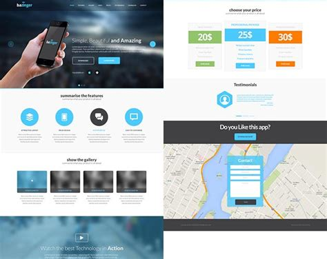 web design landing page how to design a great landing page web development