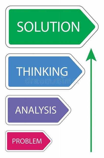 Problem Solution Clipart Concept Probleem Soluzione Problema