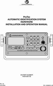 L3 Technologies Ais Shipboard Ais User Manual Manual