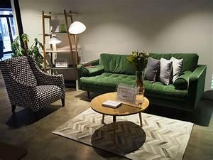 Sofa Samt Grün : sofa samt gr n hause deko ideen ~ Michelbontemps.com Haus und Dekorationen