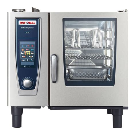 rational cuisine rational b618106 43 scc xs 61 e 480v selfcooking center combi oven steamer culinary depot