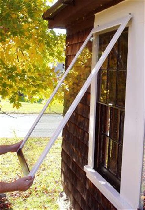 farmhouse  wooden storm window project