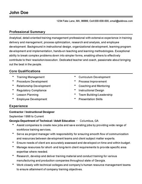 production resume format resume for new position
