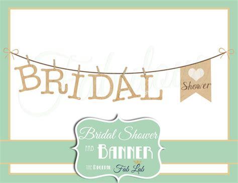Rustic Wedding Bridal Shower Clip Art