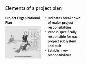 Project Planning And Project Work Plan