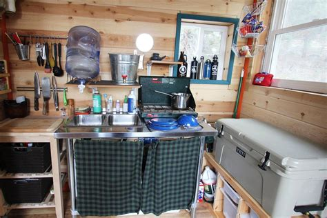 tiny house kitchen cabinets a diy self sustainable micro cabin in california 6252