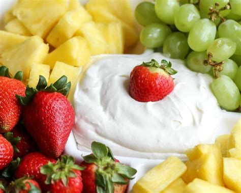 Best Cream Cheese Fruit Dip Recipe Lil Luna