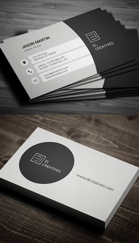 Best Visiting Card 80 Best Of 2017 Business Card Designs Design Graphic