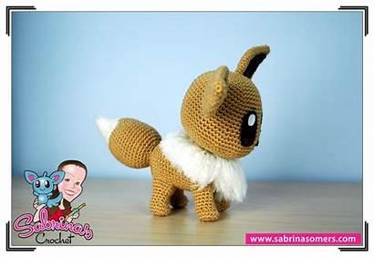 Eevee Crochet Pattern Amigurumi Pokemon