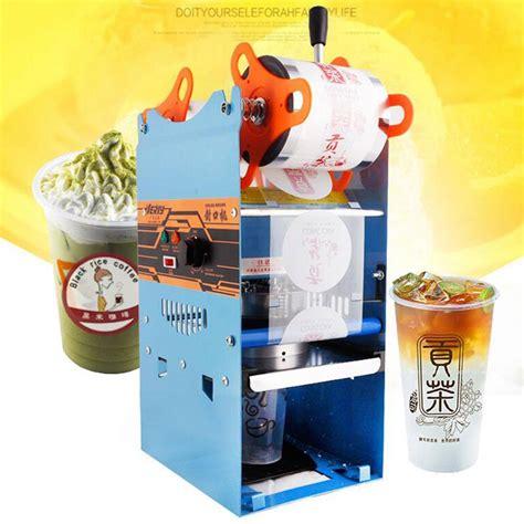 wyf cup sealer beverage cup sealing machine hand held milk cup sealer hot sealing machine