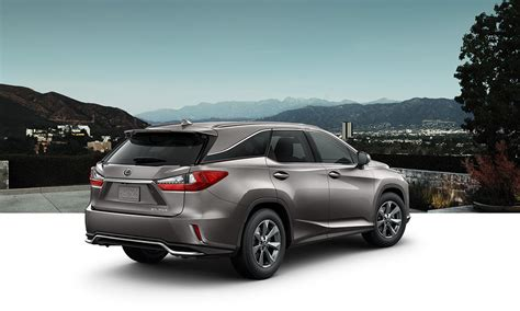 lexus rx luxury crossover specifications lexuscom