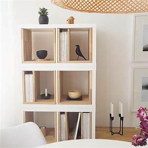 Ikea Schreibtisch Kallax : ikeahack wohnzimmer kallax kallax elemente mit ~ A.2002-acura-tl-radio.info Haus und Dekorationen