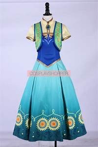 Frozen Fever Birthday Party Cosplay Costume For Sale