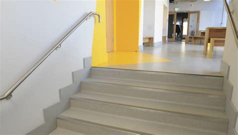 vinyl flooring health hazards irish grind school sees benefit of gerflor specification product update