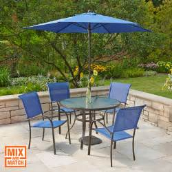 Patio Umbrellas At Home Depot by Patio Furniture For Your Outdoor Space The Home Depot