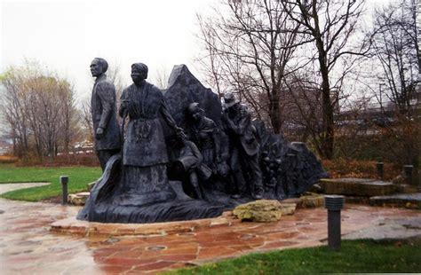battle creek mi memorial to the underground railroad