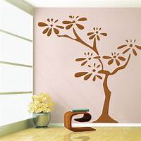 trending tree wall decals Flower Tree Wall Decal - Trendy Wall Designs