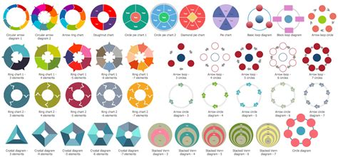 target  circular diagrams solution conceptdrawcom