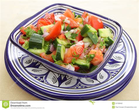 cuisine plus maroc salade marocaine traditionnelle photographie stock image