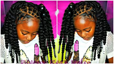 braid crochets natural kids hair protective styling
