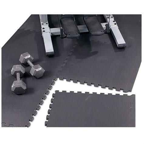 Mat Floor Protection by Puzzle Mat Floor Protector Black 99324 Rugs At