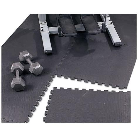 floor mats protectors puzzle mat floor protector black 99324 rugs at sportsman s guide
