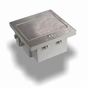 prise de sol vide a equiper pour 2 modules 45x45 With prise de sol exterieur