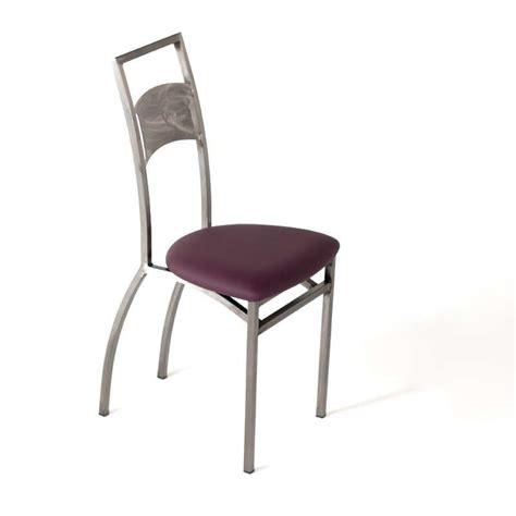chaise de cuisine blanche chaise blanche de cuisine chaise capitonnes simili cuir