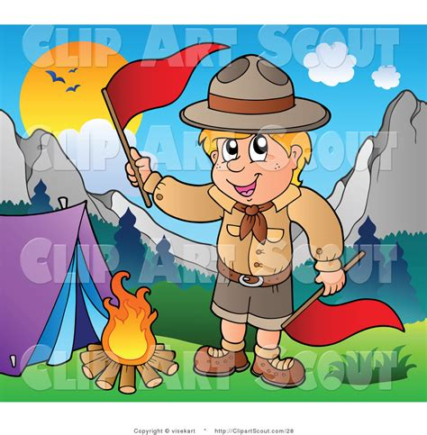 clipart scout royalty free c site stock scout designs