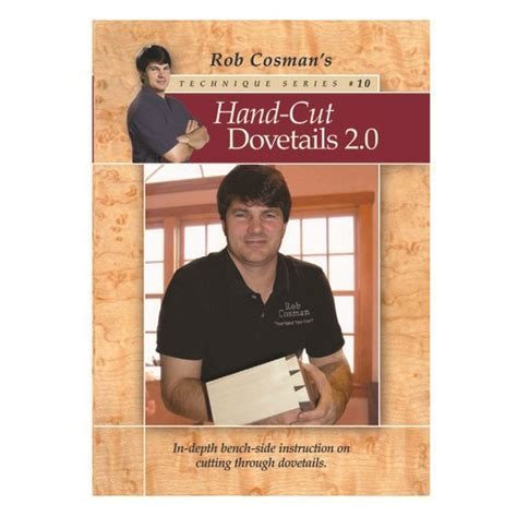 rob cosman hand cut dovetails  dvd