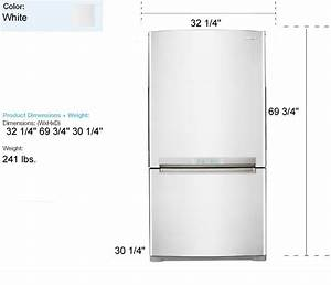 Emejing apartment size refrigerator dimensions images for Apartment fridge dimensions