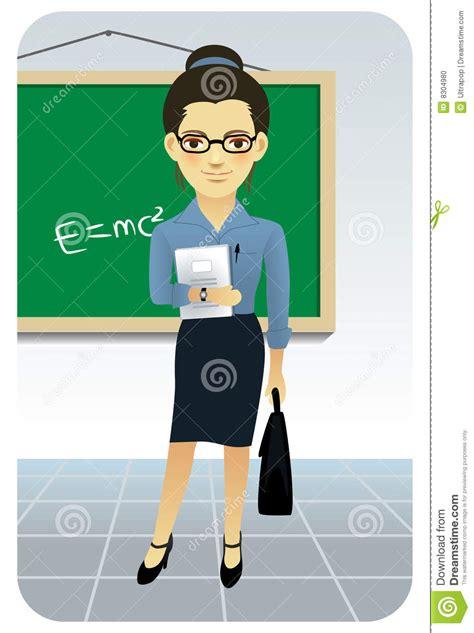 Billboard Illustration profession series teacher professor stock vector 972 x 1300 · jpeg