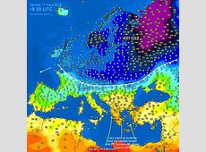 Update on the Arctic airmass outbreak across Europe