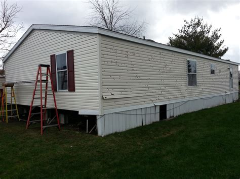 mobile wind skirting replacement homesaver contracting company