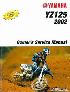 2002 Yamaha Yz125 Motorcycle Service Manual