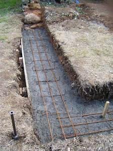 Ferraillage Fondation Mur De Cloture : fondations archives restaurer r nover r habiliter sa ~ Dailycaller-alerts.com Idées de Décoration